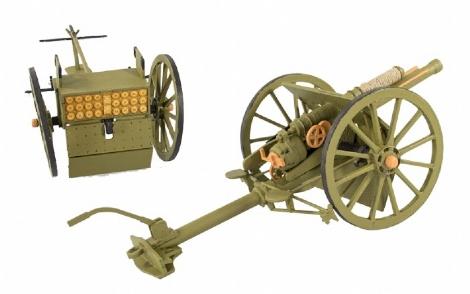 New Kit – Field Gun & Limber – WW1 18pdr Quick Firing